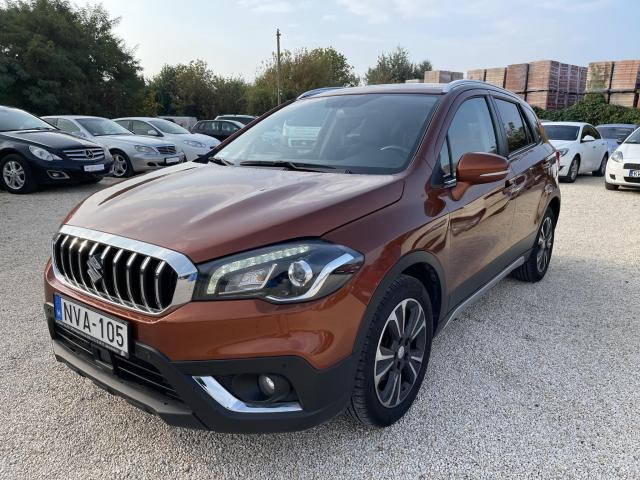 SUZUKI SX4 S-CROSS 1.4T GLX 4WD (Automata) Magyarországi Első tulajdonostól! Bőr belső! Full Extra!